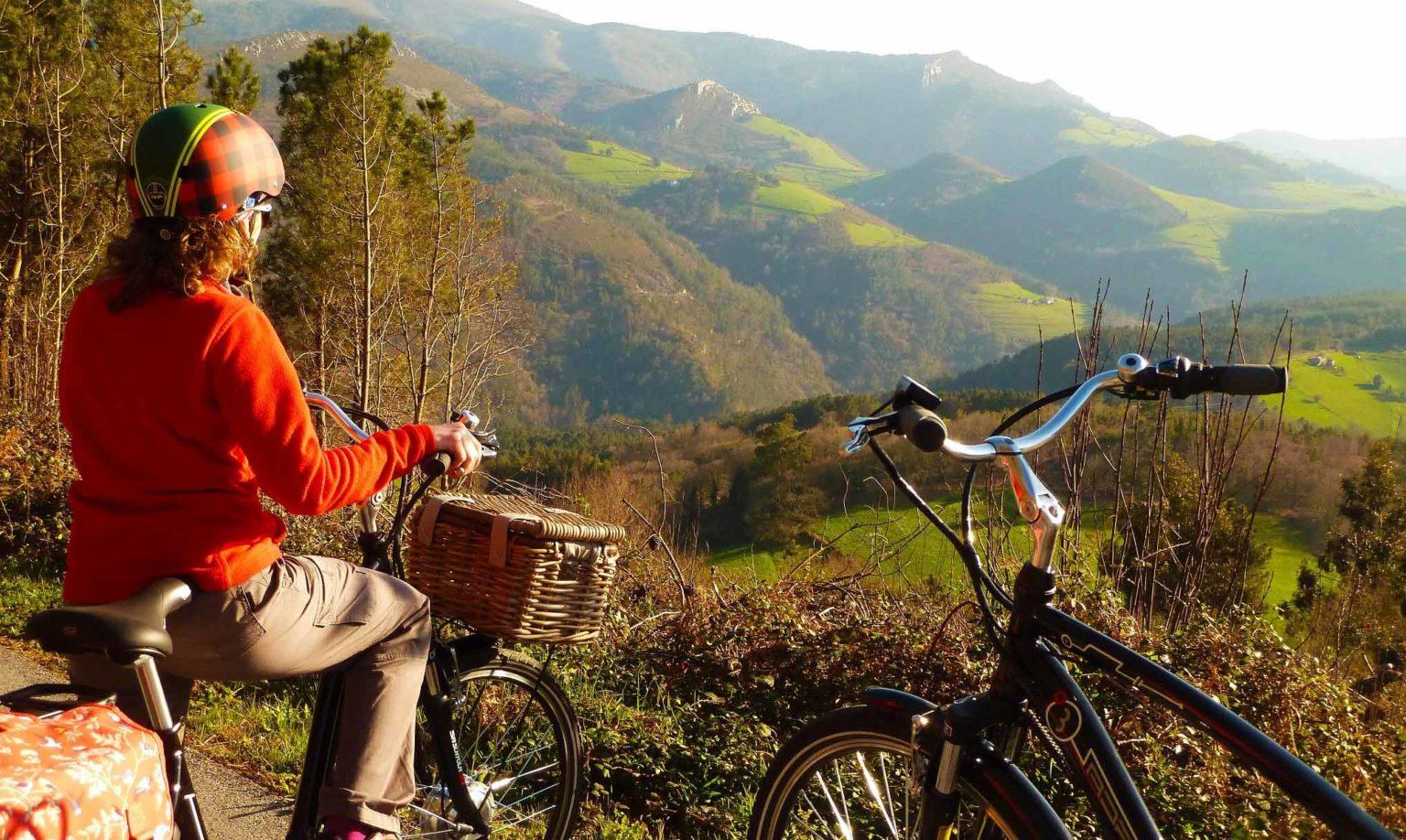Ruta en bici eléctrica por Castrillon